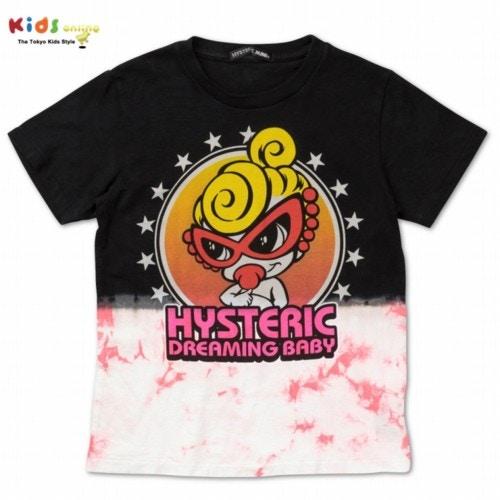 Hystericmini ヒステリックミニ タイダイ染めMINI Tシャツ