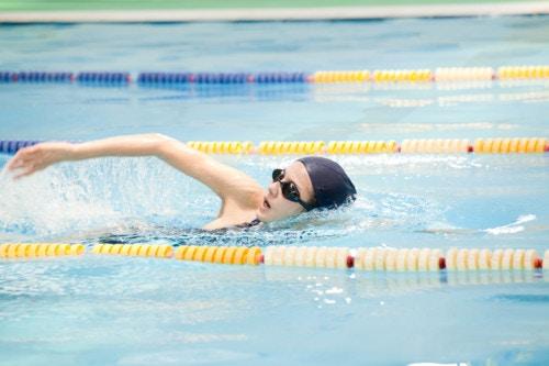 水泳 質の高い筋肉