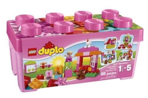 レゴ Duplo  ピンクのコンテナデラックス