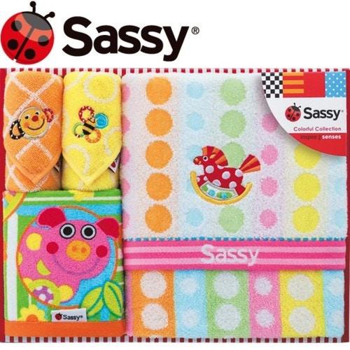 sassy サッシー タオルセット