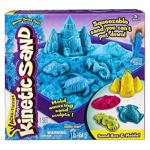 Sandbox Molds Activity Set 室内用お砂遊びセット ブルー