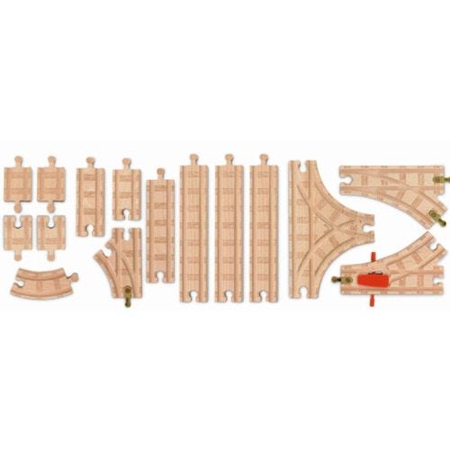 トーマス木製レールシリーズ ベーシック拡張線路セット