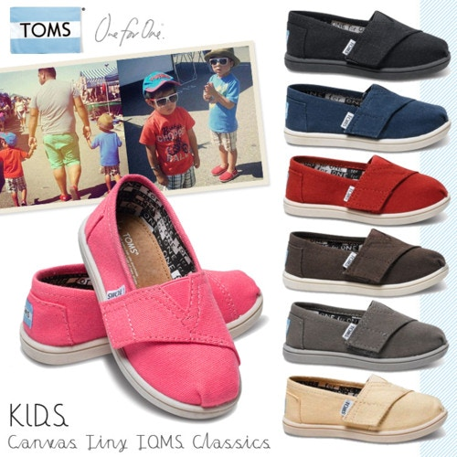 Toms Shoes トムズ シューズ Tiny Canvas Classics