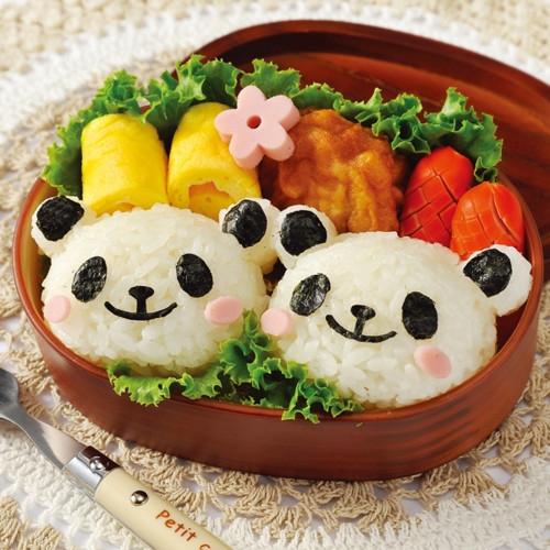 パンダおにぎりセット(おにぎり型&のりパンチ)