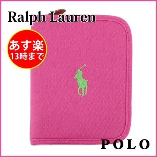 【RalphLauren】ポロ 母子手帳ケース マルチケース マザーズ ブックキャンバス