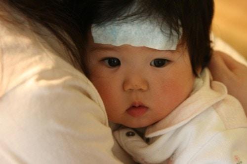 赤ちゃん 熱
