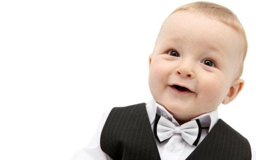 赤ちゃん 紳士