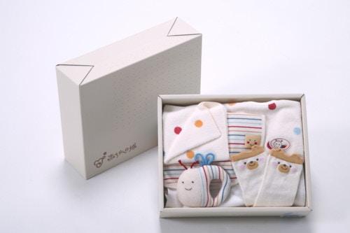 赤ちゃんの城ギフトセット(BOX付)