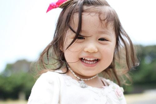 子供 笑顔