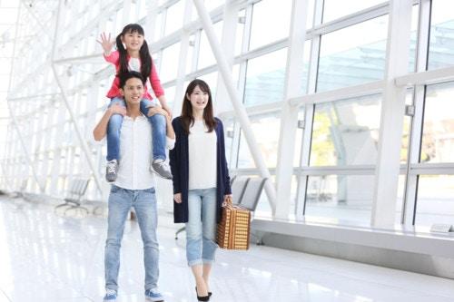 旅行 家族