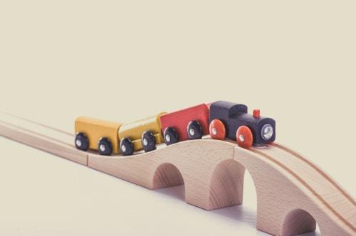 電車 遊び