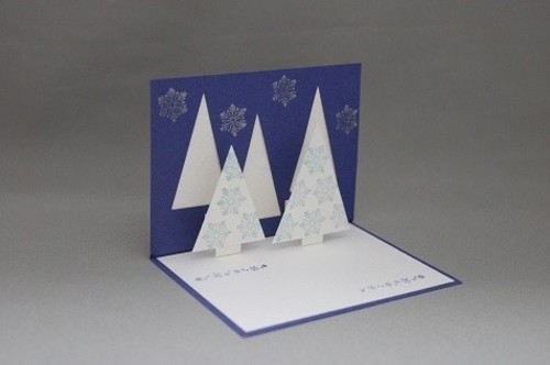 クリスマスツリー カード
