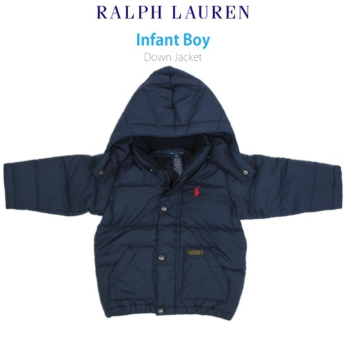 "(9M-24M) POLO by Ralph Lauren ""INFANT BOY"" Down Jacket Parka"