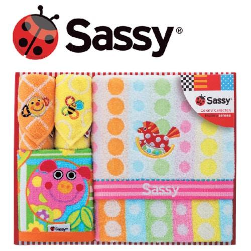 Sassy サッシー バスタオルセット