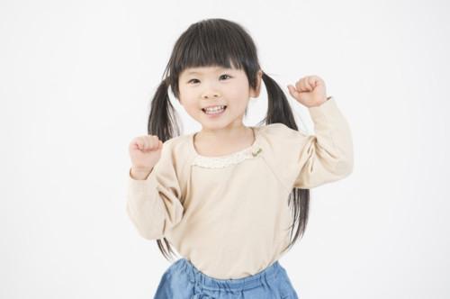 3歳 幼児 笑顔