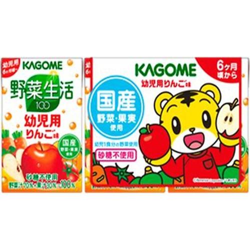 カゴメ 野菜生活100幼児用りんご味 3本パック