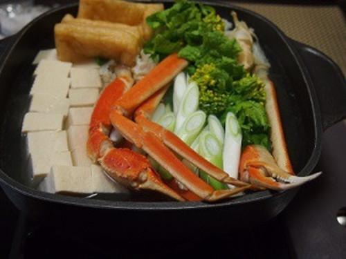 シンプルカニ鍋