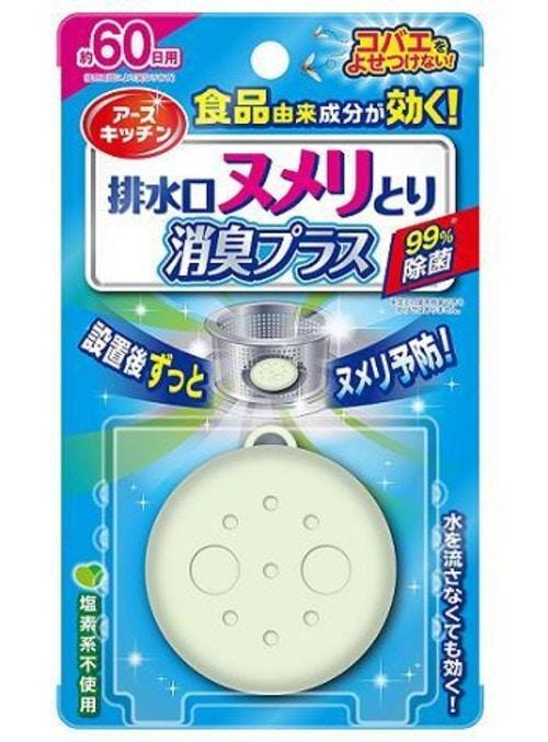 排水口ヌメリとり 消臭プラス 1個入/ アース製薬