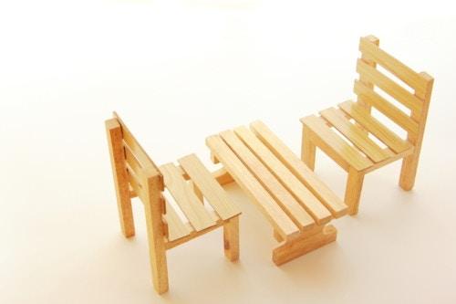 腰掛 木材