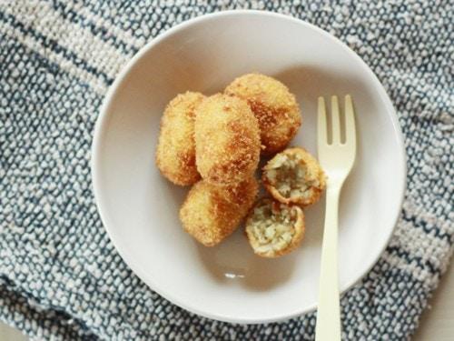 魚と大豆のさつまコロッケ