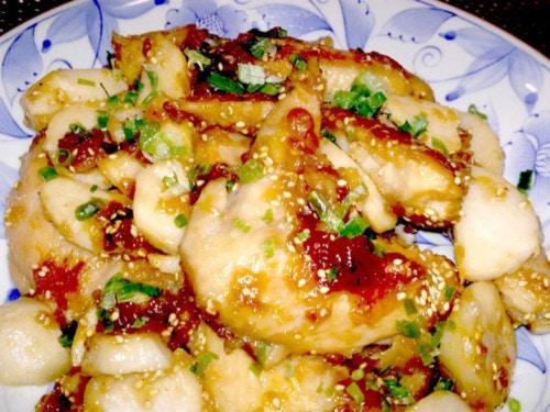 【レシピ】手羽先とホクホク里芋の甘辛煮