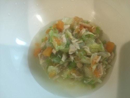ツナをつかった具だくさん野菜スープ