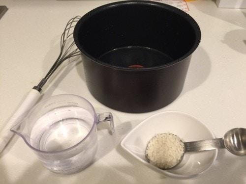 お鍋で10倍粥を作ろう!