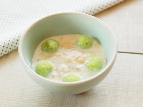 4.魚と枝豆のコーン煮