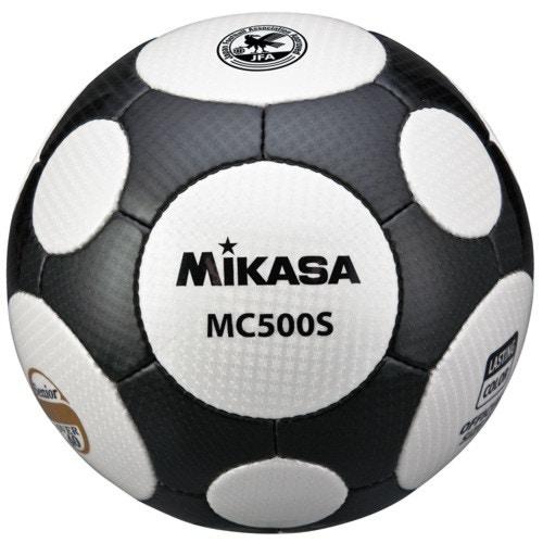 MIKASA ミカサ サッカーボール シニア軽量 5号 40歳以上 MC500S-WBK 【取り寄せ品】