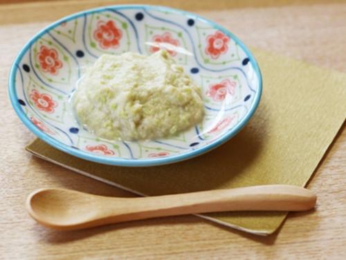 枝豆と魚の豆腐あえ