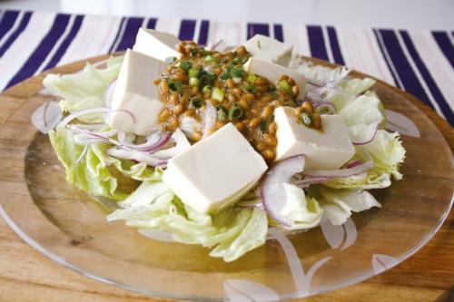 納豆 サラダ