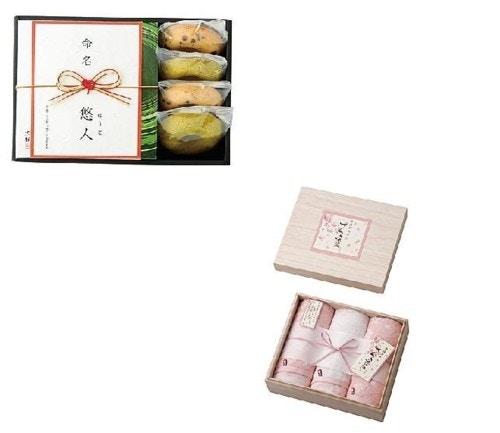 京都 京寿楽庵宇治抹茶バウム&さくら染めタオルのセット