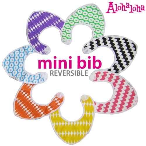 Alohaloha アロハロハ/mini bib ビブ ビブパ柄