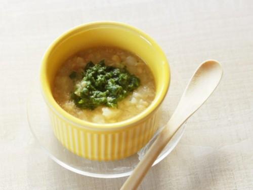 魚とじゃが芋の小松菜煮
