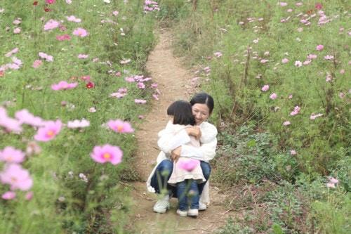 抱きしめる 2歳