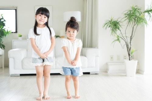 姉妹 3歳