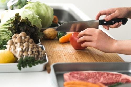 調理 野菜
