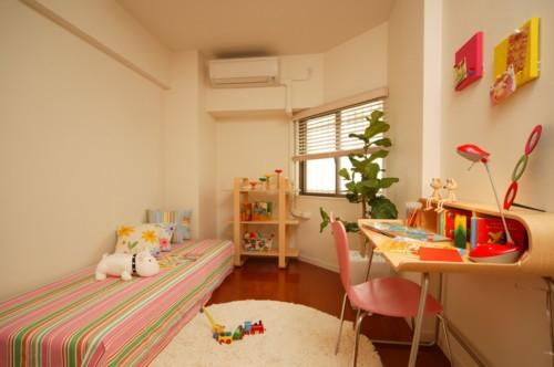 子供部屋 ピンク