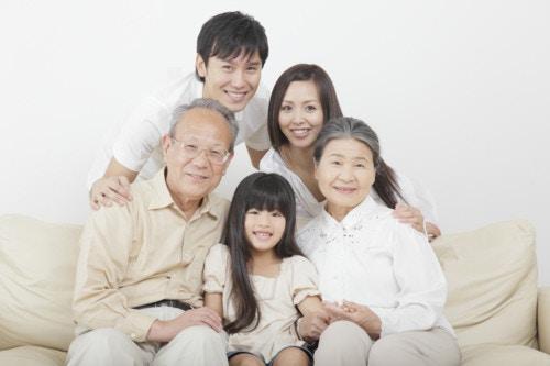 家族 リビング