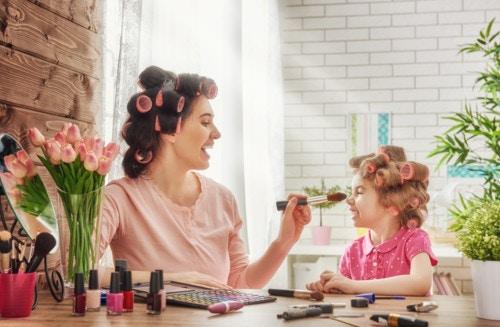 子供 化粧