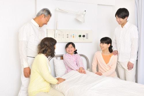 入院 ベッド