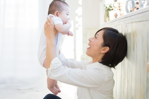 赤ちゃん ママ 幸せ