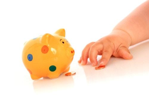 赤ちゃん お金