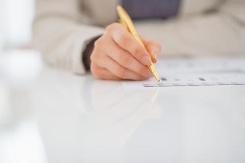 書類 ペン