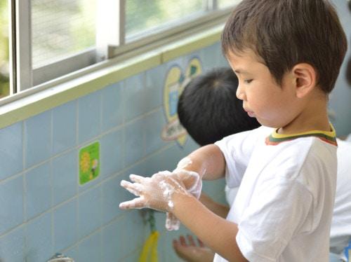 保育園 手洗い