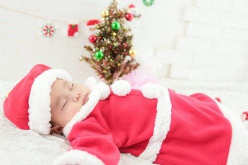 クリスマス 赤ちゃん