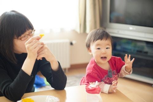 ママ 赤ちゃん 日本人