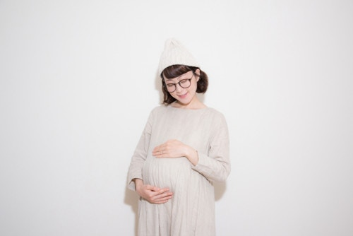 妊婦 ニット