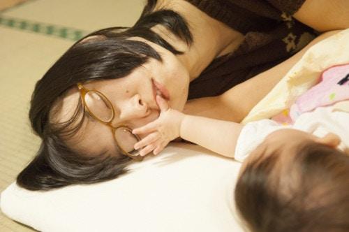 赤ちゃん 日本人 親子