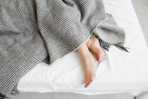 足 ベッド